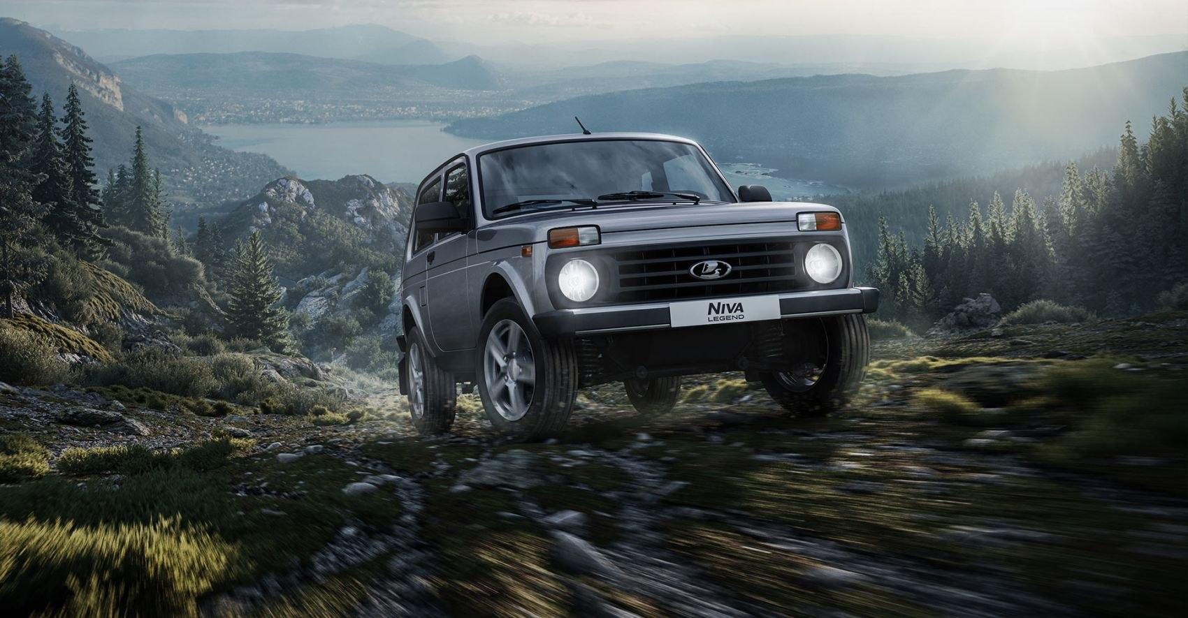 Lada Niva Legend стала лучшим внедорожником для охоты и рыбалки по версии СберАвто