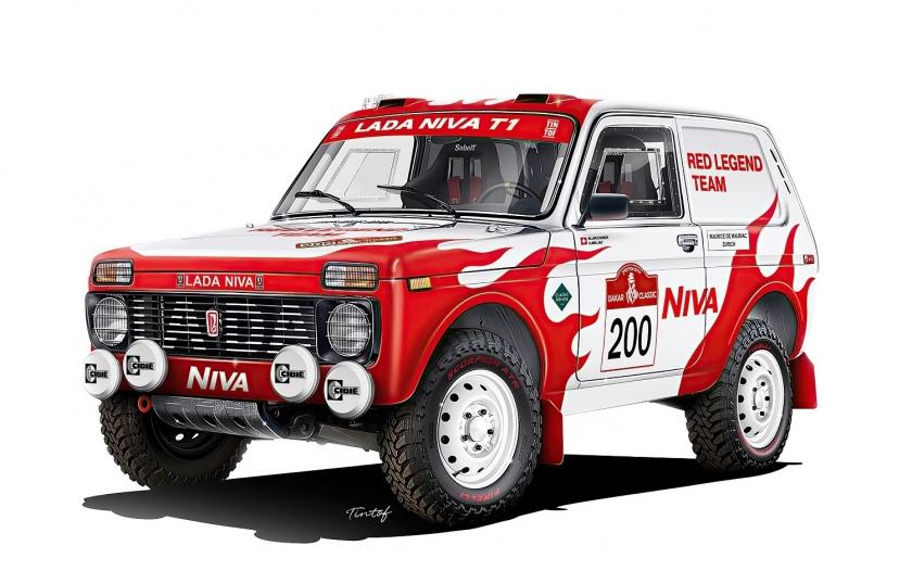 LADA поддержит частную гоночную команду на ралли Dakar-2022