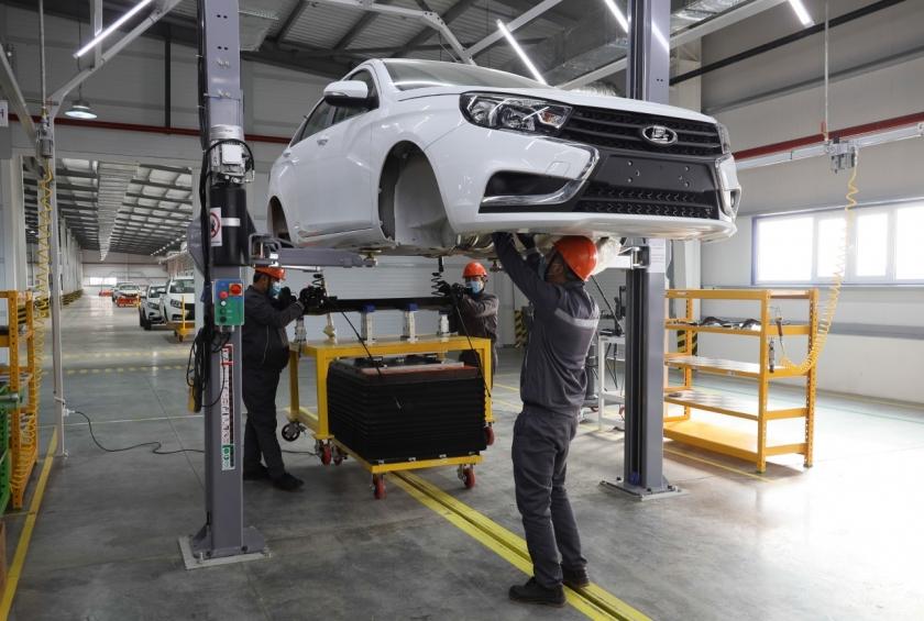 АВТОВАЗ объявляет о начале серийной сборки автомобилей LADA в Узбекистане