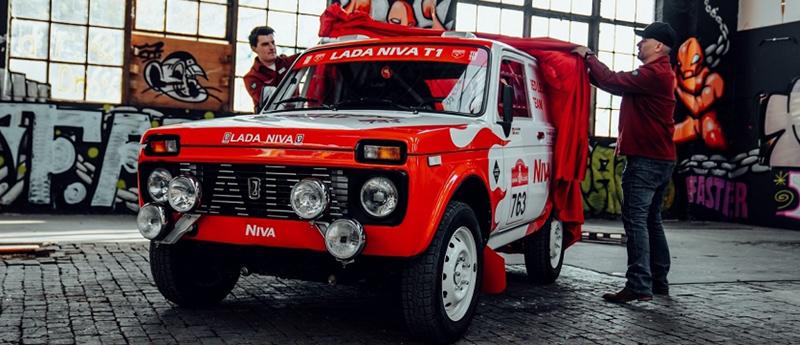 Европейская презентация команды Niva Red Legend