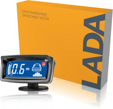 Система помощи при парковке LA 400 N (4 серебристых датчика)