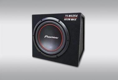 Пассивный корпусный сабвуфер Pioneer TS-WX254, максимальная мощность 1100Вт (345*325*365)