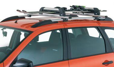 Багажник в сборе (алюминиевая дуга 20х30) для комплектации с рейлингами