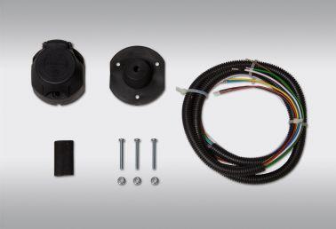 Комплекты электропроводки необходимы для подключения розетки тягово-сцепного устройства