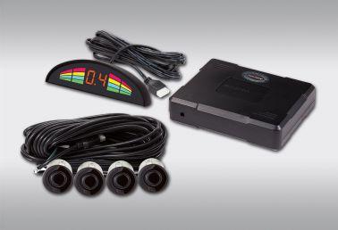 Система помощи при парковке AVILINE MP-216LED-F4BU (4 черных датчика)