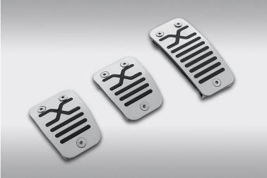Комплект накладок на педали (для автомобилей 2016 с МКПП)