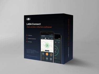 Телематическая система LADA Connect (+ абонентская плата за 3 года)