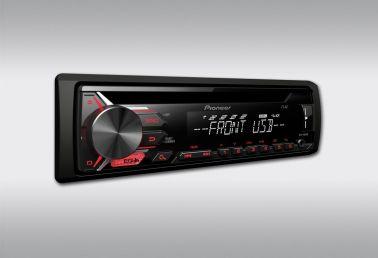 Автомобильная магнитола 1DIN Pioneer DEH-1900UB (CD/USB-ресивер)