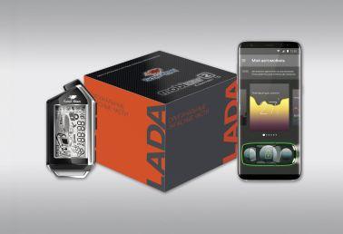 Охранная система с двухсторонней связью SCHER-KHAN Mobicar 2 StartKey (а/з, CAN/LIN, Bluetooth smart)