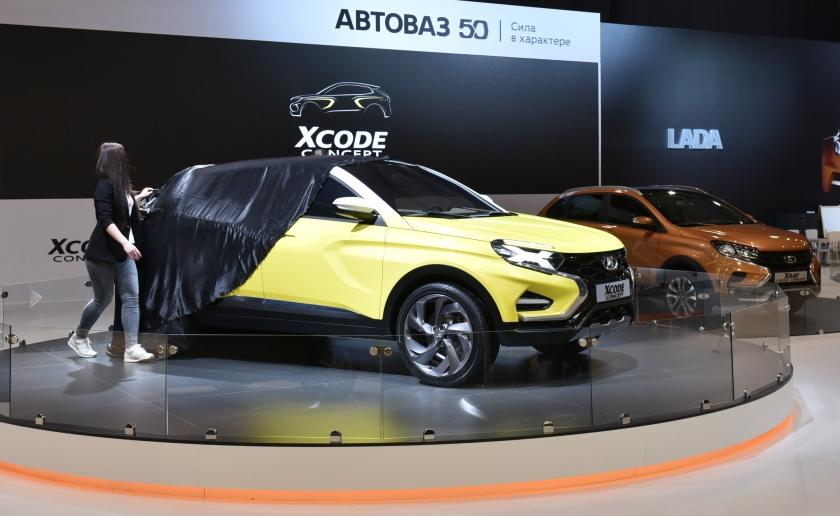 LADA представляет XCODE на тольяттинском автосалоне