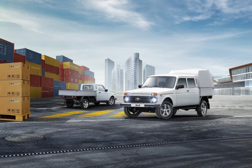 Старт продаж обновленных бортовых платформ и фургонов на базе LADA 4x4