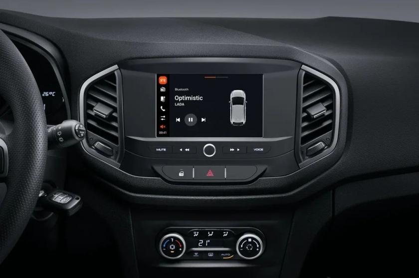 New multimedia system ENJOY for the LADA XRAY