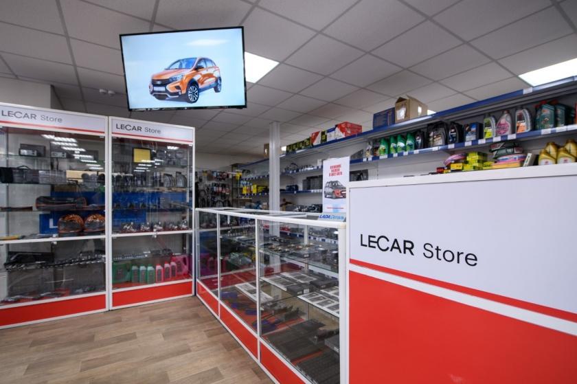 LADA Detal' transforms into  the new multi-brand format LECAR Store