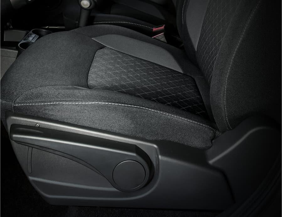 Настройка сиденья водителя