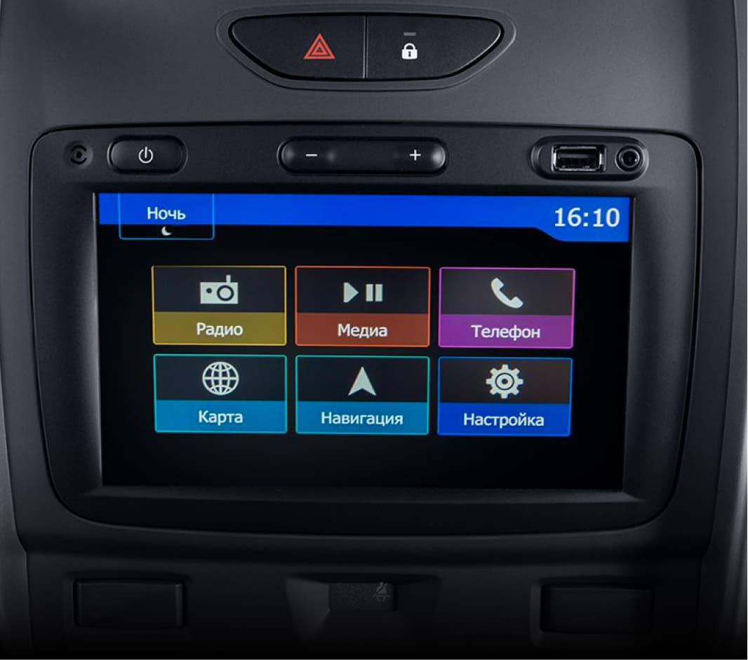"""7"""" дюймовая мультимедийная система с Apple Car Play и Android Auto"""