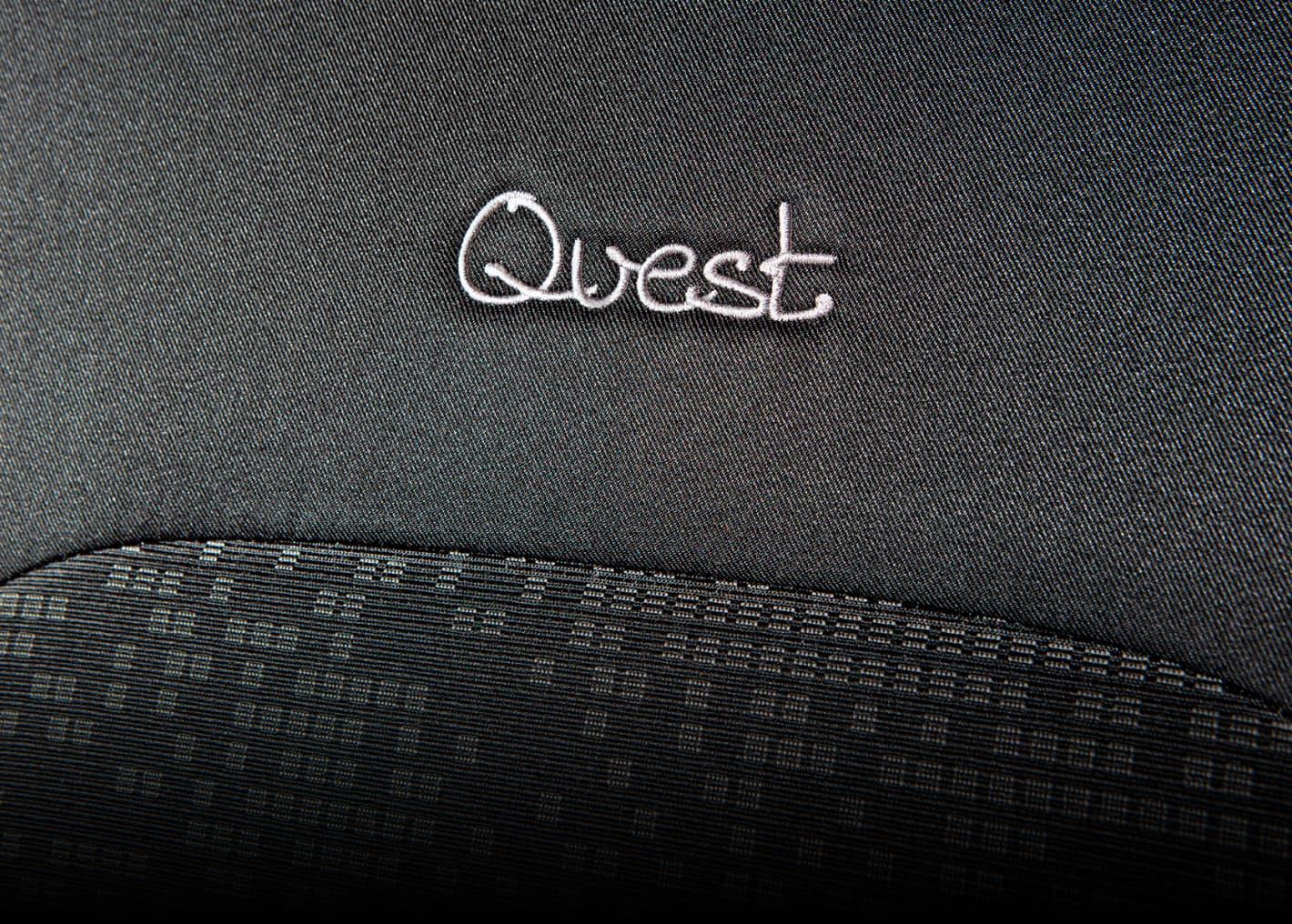 Надпись quest