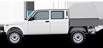 Аксессуары для LADA Niva Legend бортовая платформа