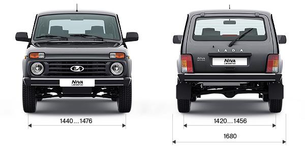 Технические характеристики LADA Niva Legend 3 дв.