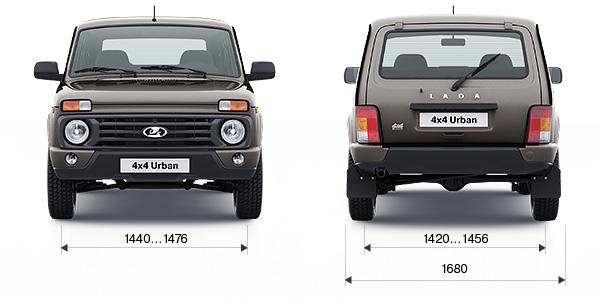 Технические характеристики LADA 4x4 Urban 5 дв.